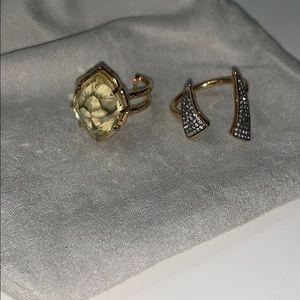 Stella & Dot Ring Duo